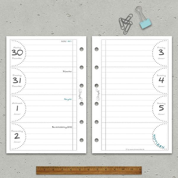 "2020 Wochenkalender ""PureSinn"" Pocket – Bild 2"
