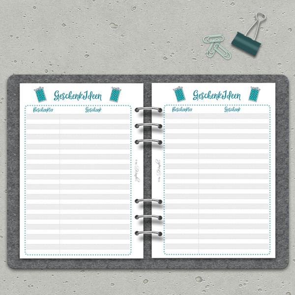 "Geburtstagsplaner ""B-DaySinn"" DinA5 – Bild 3"