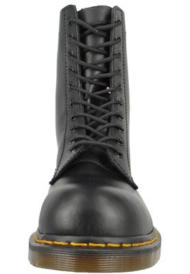 Dr. Martens 1919 10105001 Men's Fine Haircell Black Black Steel Cap – Bild 2