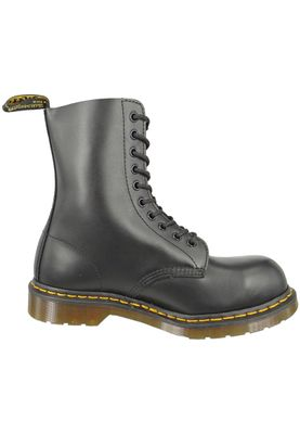 Dr. Martens 1919 10105001 Men's Fine Haircell Black Black Steel Cap – Bild 3