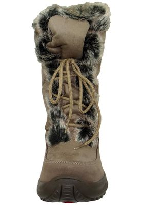 Lackner Womens Winter Boots Winter Boots Spikes 7606 RENATE LS TX OC Taupe Brown Brown – Bild 7