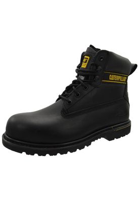 CAT Caterpillar safety shoes Holton SB Black steel toe cap – Bild 1