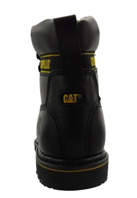 CAT Caterpillar safety shoes Holton SB Black steel toe cap – Bild 5