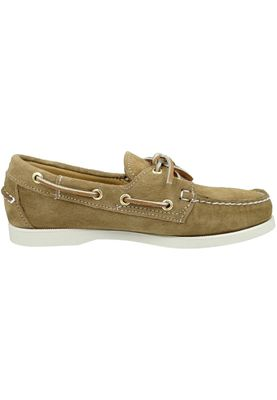 Sebago B57963 DOCKSIDES Sand Suede Brown WOMAN – Bild 3