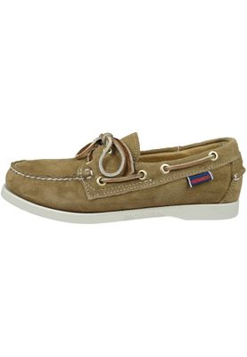Sebago B57963 DOCKSIDES Sand Suede Brown WOMAN – Bild 6