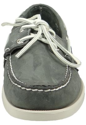 Sebago shoes B72671 DOCKSIDES Smoke MEN Gray – Bild 4