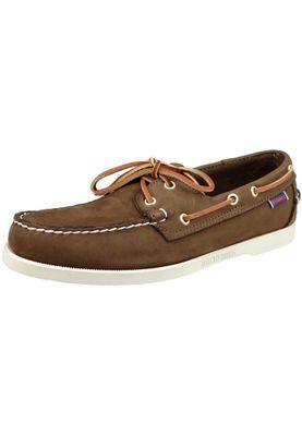 Sebago B72758 DOCKSIDES Nubuck Dark Brown MEN – Bild 1