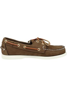 Sebago B72758 DOCKSIDES Nubuck Dark Brown MEN – Bild 2