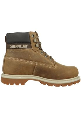 CAT Caterpillar P708190 Colorado Herren Boots Stiefel Dark Beige Braun – Bild 3