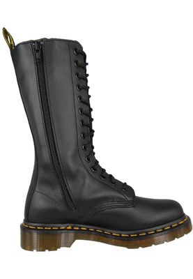 Dr. Martens VONDA 12761001 Ladies Embroidery Roses Black Black 14-Hole – Bild 2