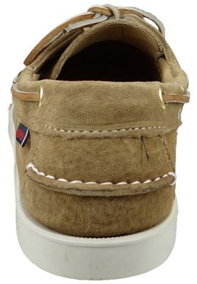 Sebago Shoes B72763 DOCKSIDES Sand Suede Sable Brown – Bild 3