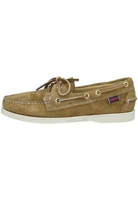 Sebago Shoes B72763 DOCKSIDES Sand Suede Sable Brown – Bild 4