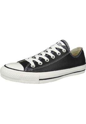 Converse Chucks Leder 132174C CT AS OX Classic Lea Black Schwarz – Bild 1