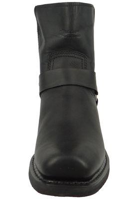 Harley Davidson D94422 El Paso Herren Biker Boots Stiefelette Black Schwarz – Bild 3