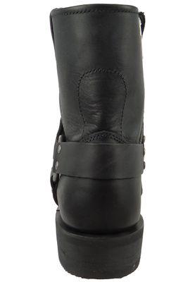 Harley Davidson Biker Boots Stiefelette El-Paso D94422 Black Schwarz Short Harness – Bild 5