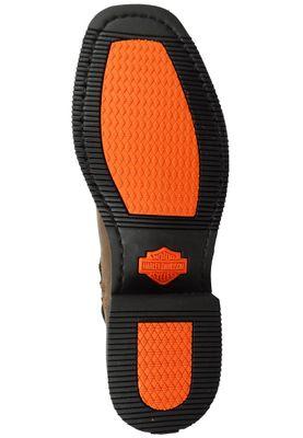 Harley Davidson Biker Boots Ankle Boot El-Paso D94423 Brown Brown Short Harness – Bild 6