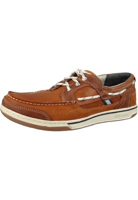 Sebago Schuhe B81060 Triton Three Eye British TAN   Brown Braun – Bild 1