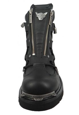 Harley Davidson Biker Boots D91680 Brake Light Engineerstiefel schwarz   black – Bild 5