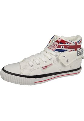 British Knights BK Sneaker ROCO B30-3798 Union Jack White Multi Weiß – Bild 1