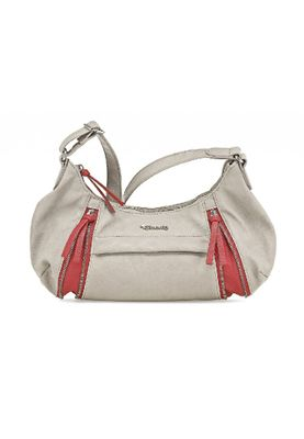 Tamaris Bag ADELE HOBO Bag Handbag Stone Comb Gray 37cm x 23cm x 9cm