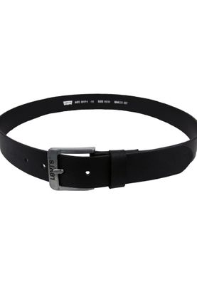 Levis Belt Leather Belt Free Black Black 5117-3-59 – Bild 3
