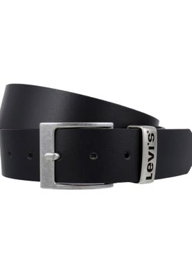 Levis Belt Leather Belt Ashland Regular Black Black 215111-1-59 – Bild 1
