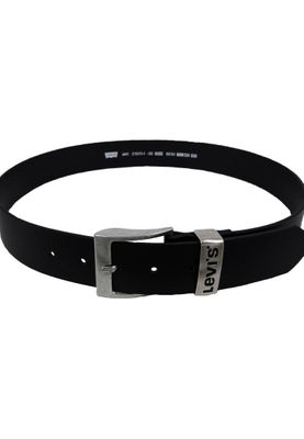 Levis Belt Leather Belt Ashland Regular Black Black 215111-1-59 – Bild 2
