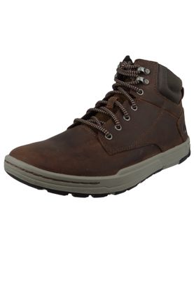 CAT Caterpillar Shoes Colfax Mid P716679 Dark Brown Brown – Bild 2