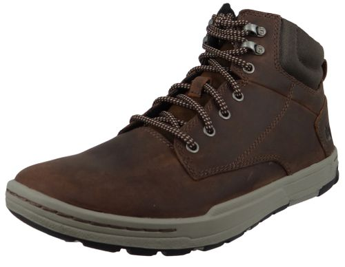 CAT Caterpillar Shoes Colfax Mid P716679 Dark Brown Brown – Bild 1