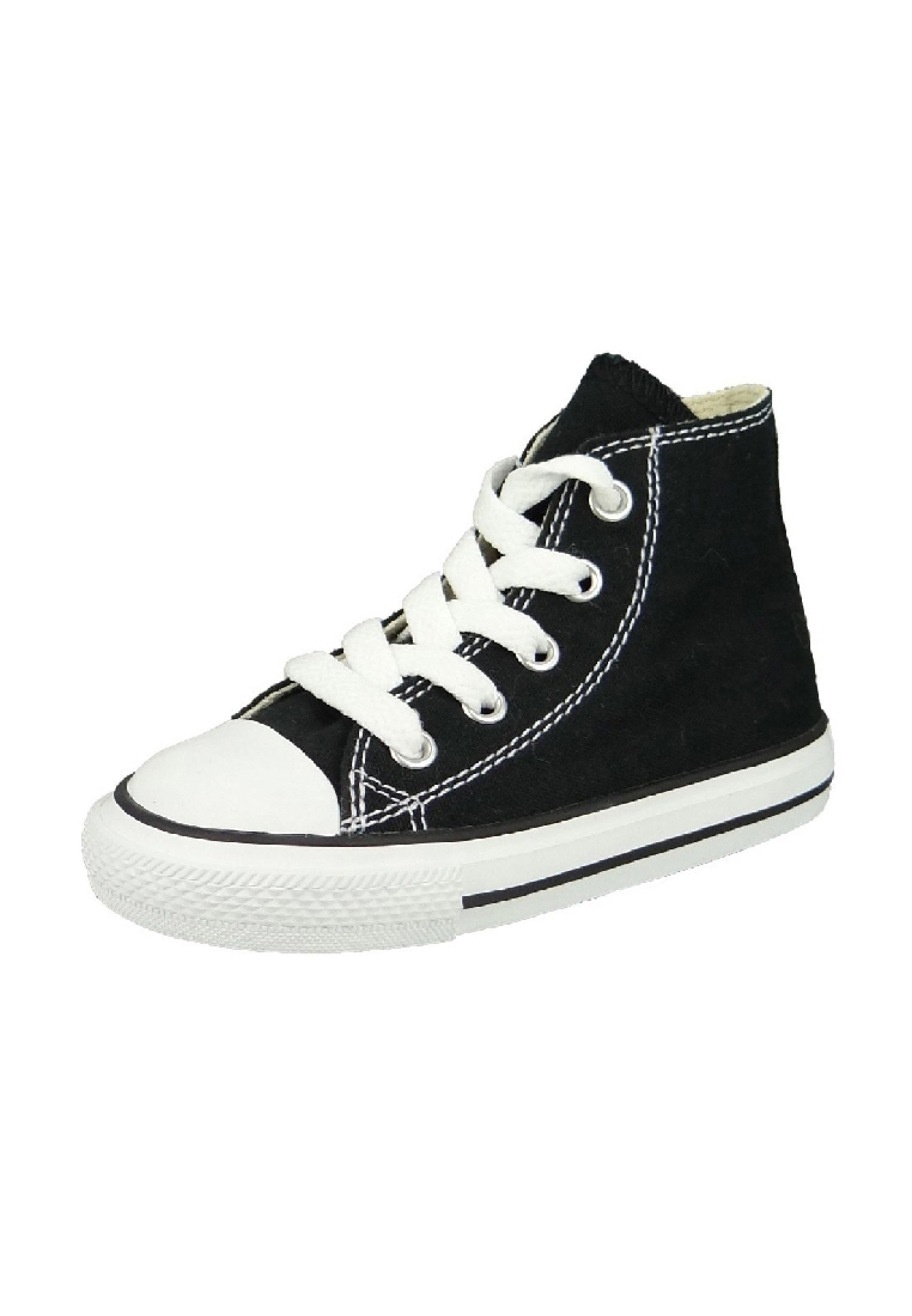 Converse Chucks Kinder 7J231 AS HI CAN Black Schwarz