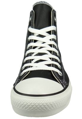 Converse Chucks AS Hi Classic Lea 132170C The new I-Robot 1S581 Leather Black – Bild 3