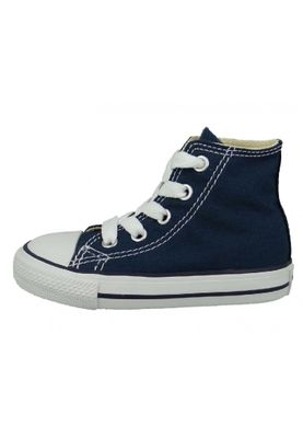 Converse Chucks Kinder 7J233C AS HI CAN Navy Blau – Bild 3