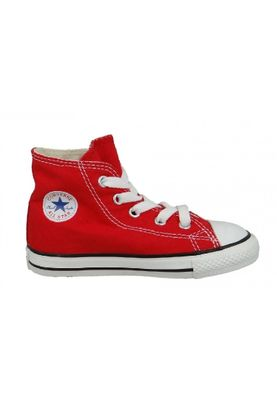 Converse Chucks Kinder 7J232C AS HI CAN Red Rot – Bild 2