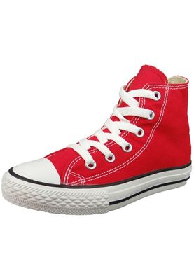 Converse Chucks Kinder 3J232C AS HI CAN Red Rot – Bild 1