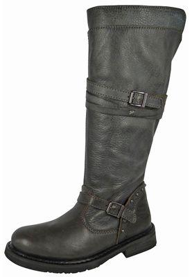 Harley Davidson Damenstiefel Biker Boots D83660 Cyndie Slate Grau – Bild 1