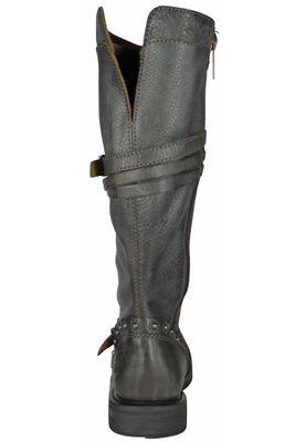 Harley Davidson Damenstiefel Biker Boots D83660 Cyndie Slate Grau – Bild 3