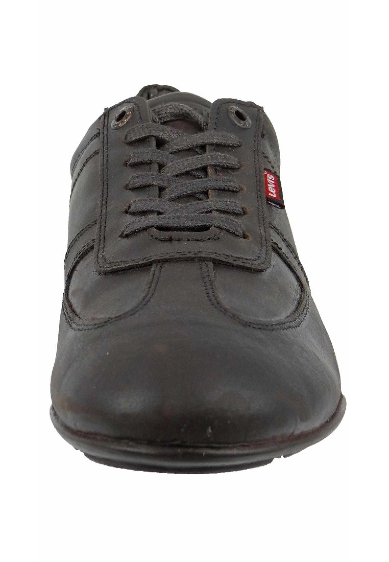 levis schuhe sneaker chula vista dark brown dunkelbraun. Black Bedroom Furniture Sets. Home Design Ideas