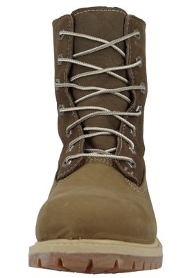 Timberland Womens Winter Boots Authentics Teddy Fleece Taupe Nubuck Brown 8330R – Bild 2
