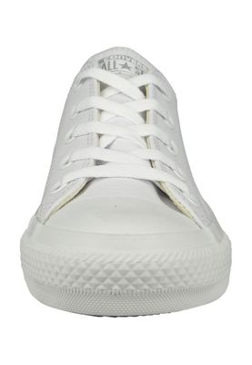 Converse Chucks 136823C AS OX White Monochrome White Leather White – Bild 2