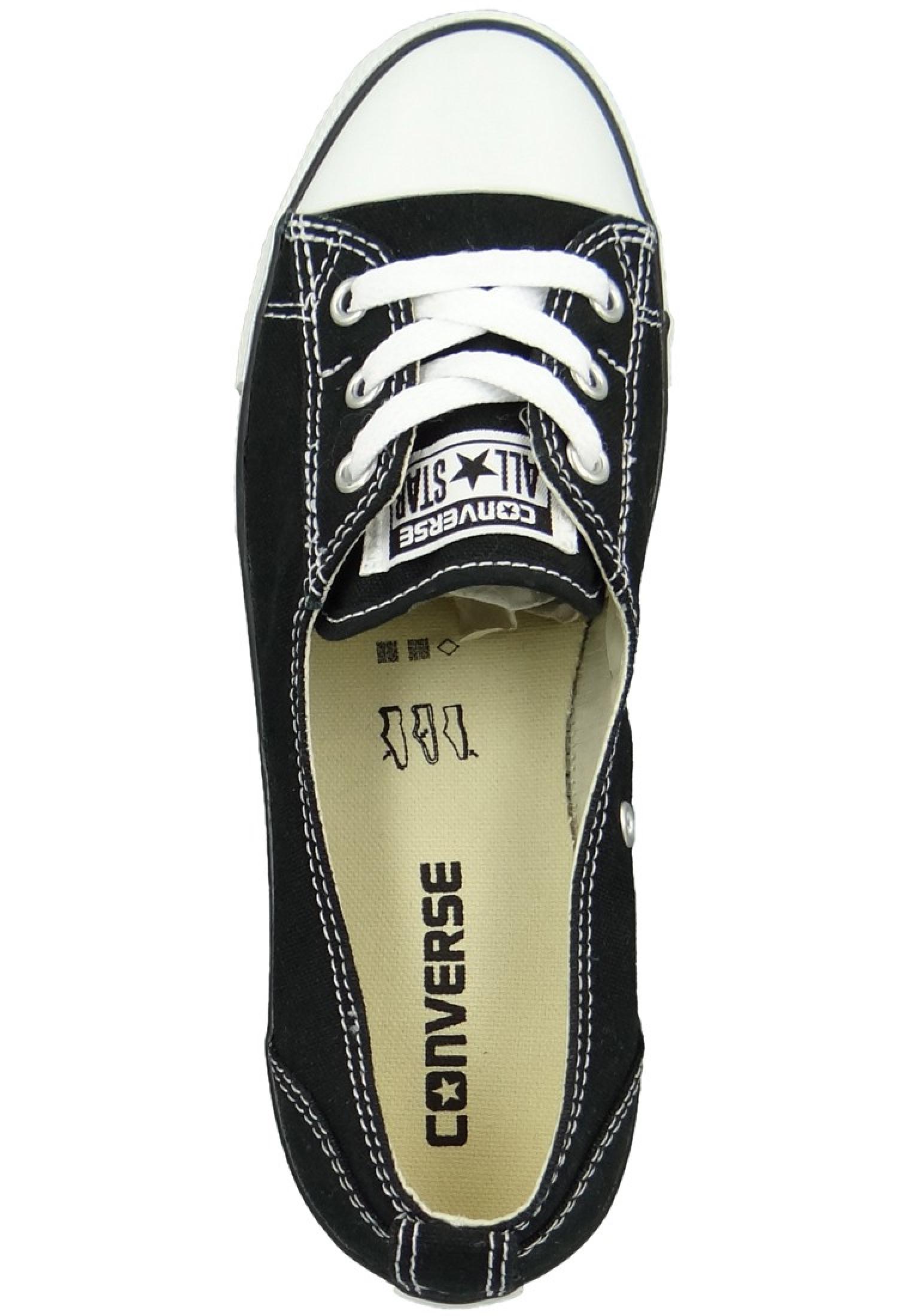 Converse Schuhe All Star Ballet Lace Schwarz 547162C Ballerinas 40,5