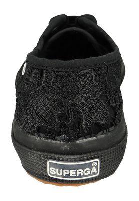 Superga Shoes Sneakers COTU Marcrame Black Black 2750 – Bild 4