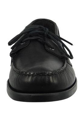 Sebago Schuhe Bootsschuhe B72673 Docksides Black Schwarz – Bild 4