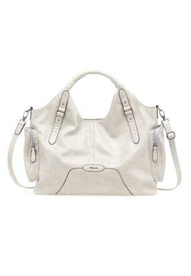 Tamaris Tasche Maria Shopper Bag Handtasche Schultertasche Stone Grau