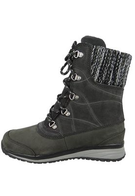 Salomon Damen Winter Stiefel Hime Mid LTR CSWP 378393 Schwarz Asphalt Asphalt Pewter – Bild 4