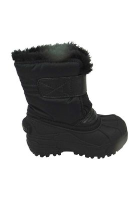 Sorel Kids Winter Boots SNOW COMMANDER Lined NC1877-010 Black Charcoal Black – Bild 3