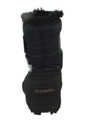 Sorel Kids Winter Boots SNOW COMMANDER Lined NC1877-010 Black Charcoal Black – Bild 4