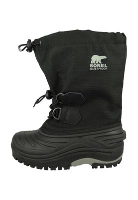 Sorel Kinder Winterstiefel Youth NY1887-011 SUPER TROOPER Black Light Grey Schwarz – Bild 7