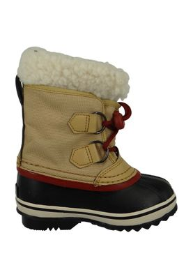 Sorel Kinder Winterstiefel YOOT PAC Nylon Gefüttert Youth NY1879-373 Curry Red Dahlia Beige – Bild 3