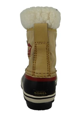 Sorel Kinder Winterstiefel YOOT PAC Nylon Gefüttert Youth NY1879-373 Curry Red Dahlia Beige – Bild 4