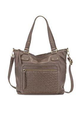 Tamaris Tasche Clare Shopping Bag Schultertasche Fango Grau